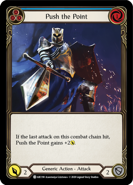 Push the Point - Unlimited (Rainbow Foil)