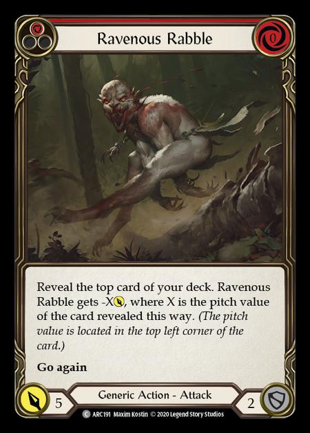 Ravenous Rabble - Unlimited
