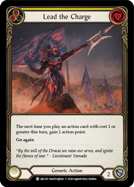 Lead the Charge - Unlimited (Rainbow Foil)