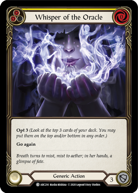 Whisper of the Oracle - Unlimited