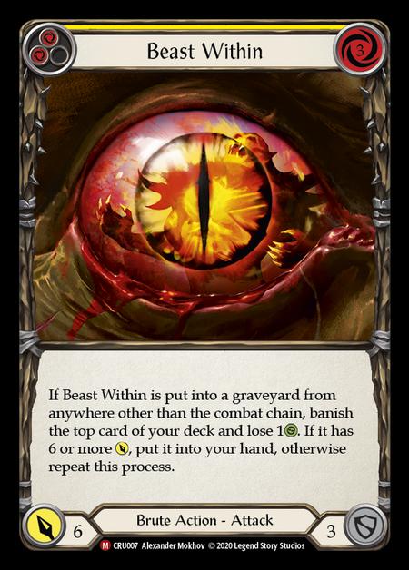 Beast Within(Rainbow Foil)