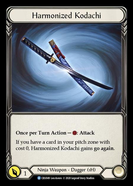 Harmonized Kodachi(Cold Foil)