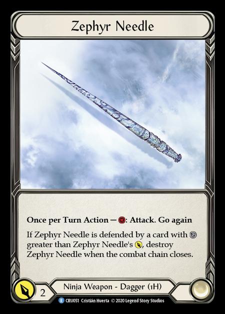 Zephyr Needle(Cold Foil)
