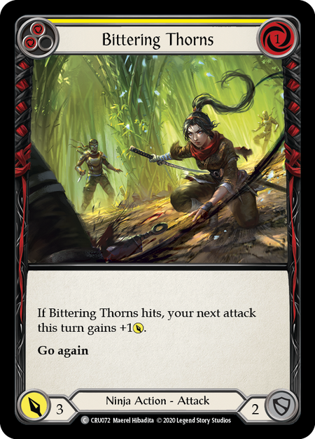 Bittering Thorns(Rainbow Foil)