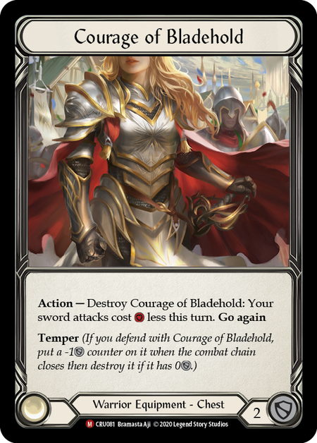 Courage of Bladehold(Cold Foil)