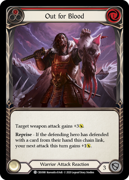 Out for Blood(Rainbow Foil)