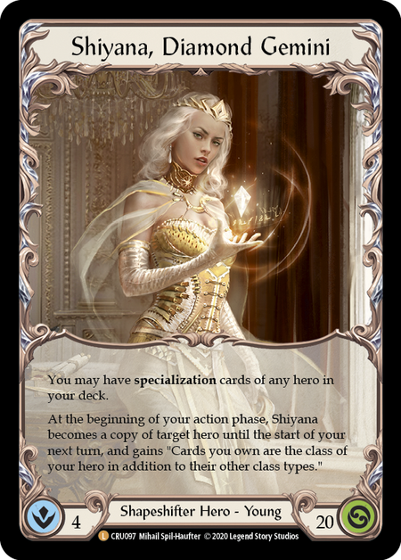 Shiyana, Diamond Gemini(Cold Foil)