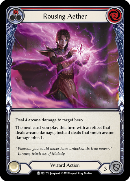 Rousing Aether(Rainbow Foil)