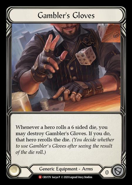Gambler's Gloves(Cold Foil)