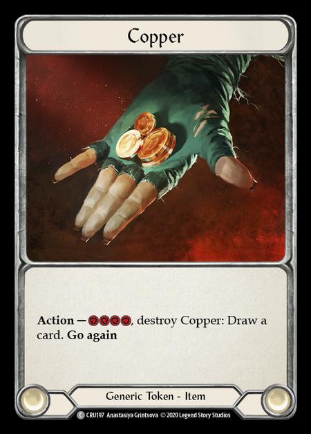 Copper(Rainbow Foil)