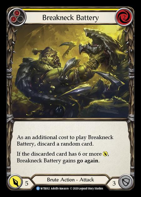 Breakneck Battery - Unlimited