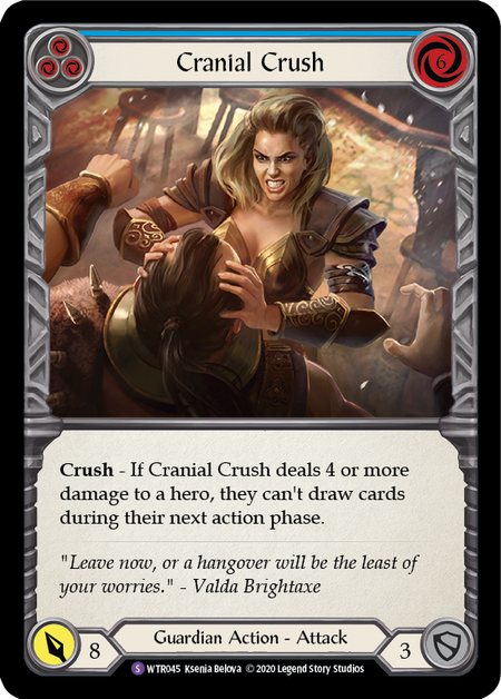 Cranial Crush - Unlimited (Rainbow Foil)