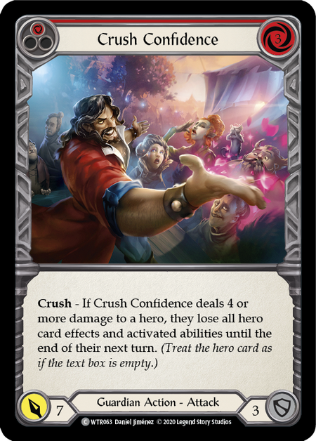 Crush Confidence - Unlimited (Rainbow Foil)