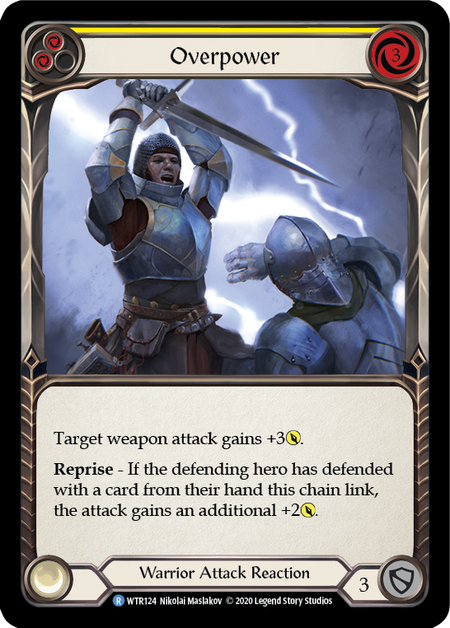 Overpower - Unlimited (Rainbow Foil)