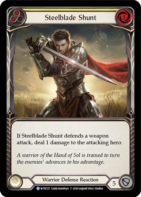 Steelblade Shunt - Unlimited