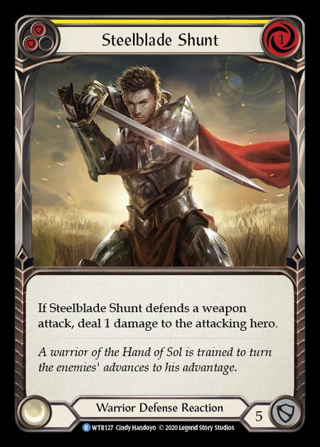 Steelblade Shunt - Unlimited (Rainbow Foil)