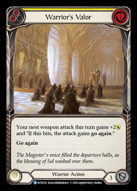 Warrior's Valor - Unlimited