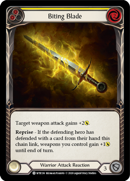 Biting Blade - Unlimited (Rainbow Foil)