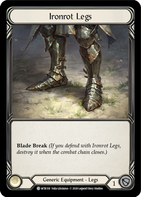 Ironrot Legs - Unlimited (Cold Foil)