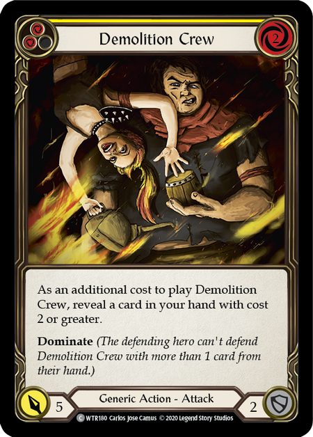 Demolition Crew - Unlimited (Rainbow Foil)