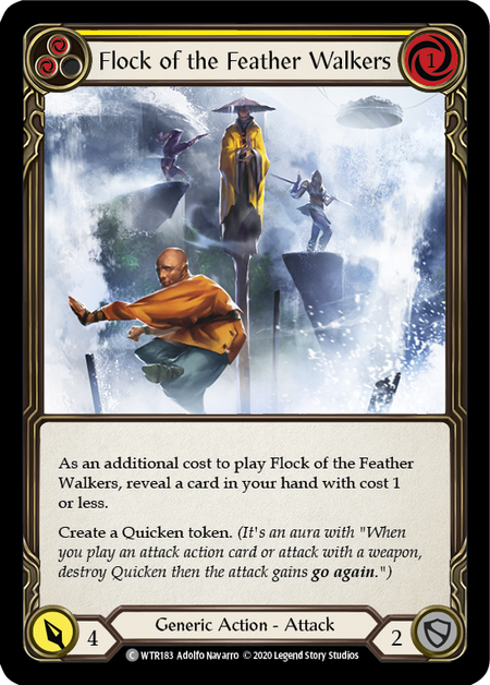 Flock of the Featherwalkers - Unlimited (Rainbow Foil)