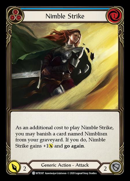 Nimble Strike - Unlimited (Rainbow Foil)