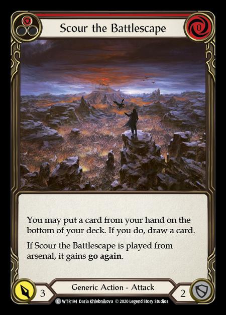 Scour the Battlescape - Unlimited