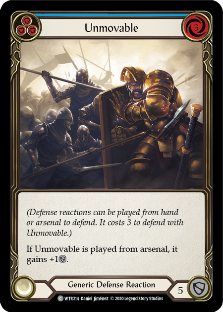 Unmovable - Unlimited (Rainbow Foil)