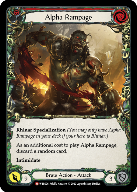 Alpha Rampage - Unlimited