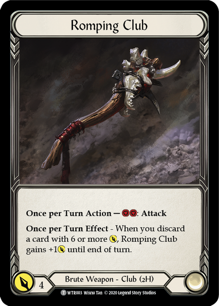 Romping Club - Unlimited (Cold Foil)