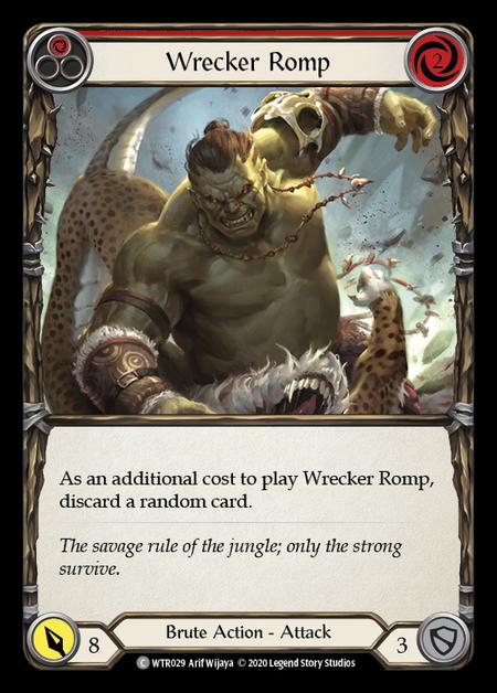Wrecker Romp - Unlimited