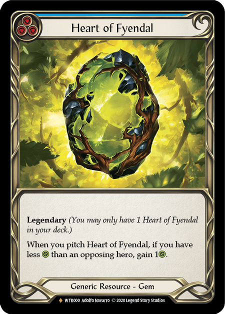 Heart of Fyendal - Unlimited (Rainbow Foil)