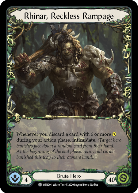 Rhinar, Reckless Rampage - Unlimited