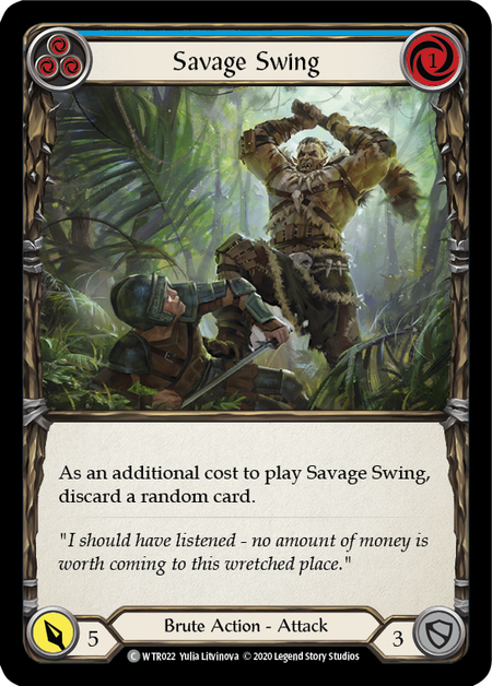 Savage Swing - Unlimited (Rainbow Foil)