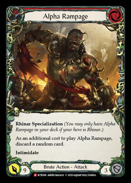 Alpha Rampage - Unlimited (Rainbow Foil)
