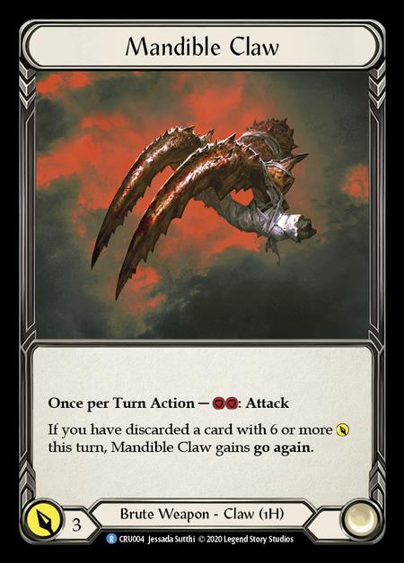 Mandible Claw
