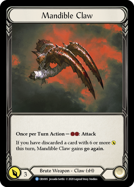 Mandible Claw(Cold Foil)
