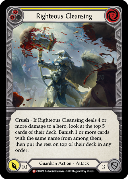 Righteous Cleansing(Rainbow Foil)