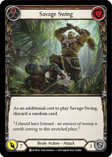 Savage Swing - Unlimited
