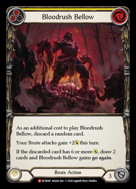 Bloodrush Bellow - Unlimited