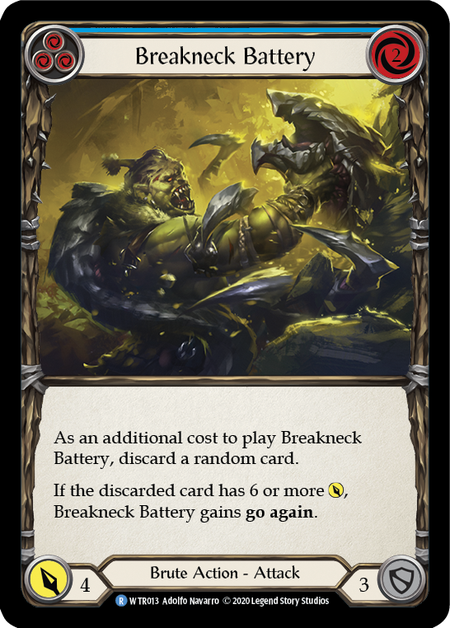 Breakneck Battery - Unlimited (Rainbow Foil)