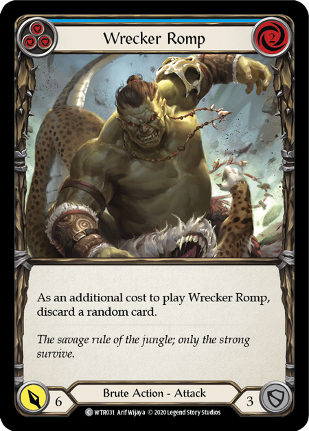 Wrecker Romp - Unlimited (Rainbow Foil)