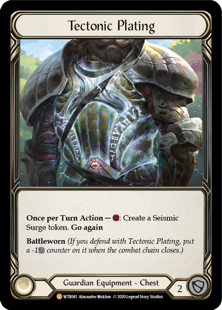Tectonic Plating - Unlimited (Rainbow Foil)
