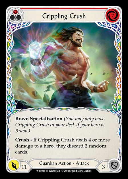 Crippling Crush - Unlimited (Rainbow Foil)