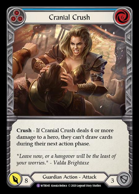 Cranial Crush - Unlimited (Rainbow Foil)