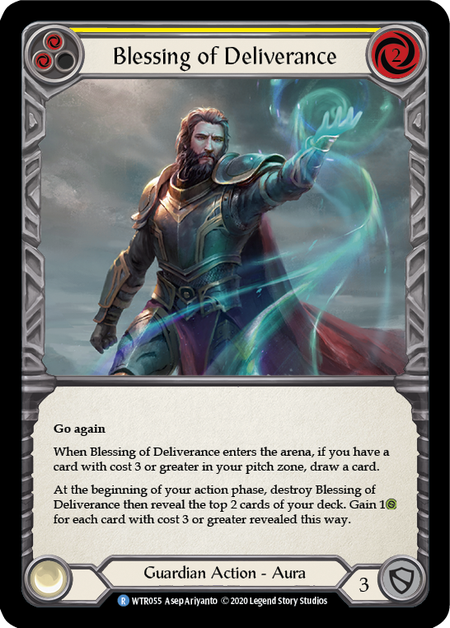 Blessing of Deliverance - Unlimited (Rainbow Foil)