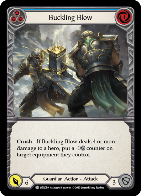 Buckling Blow - Unlimited (Rainbow Foil)