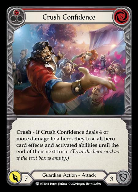 Crush Confidence - Unlimited (Rainbow Foil)