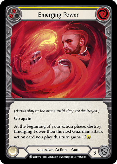 Emerging Power - Unlimited (Rainbow Foil)