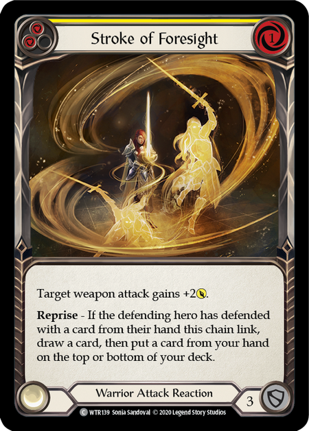 Stroke of Foresight - Unlimited (Rainbow Foil)